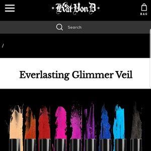 Kat Von D Makeup - BNIB Kat Von D Everlasting Glimmer Veil RAZZLE